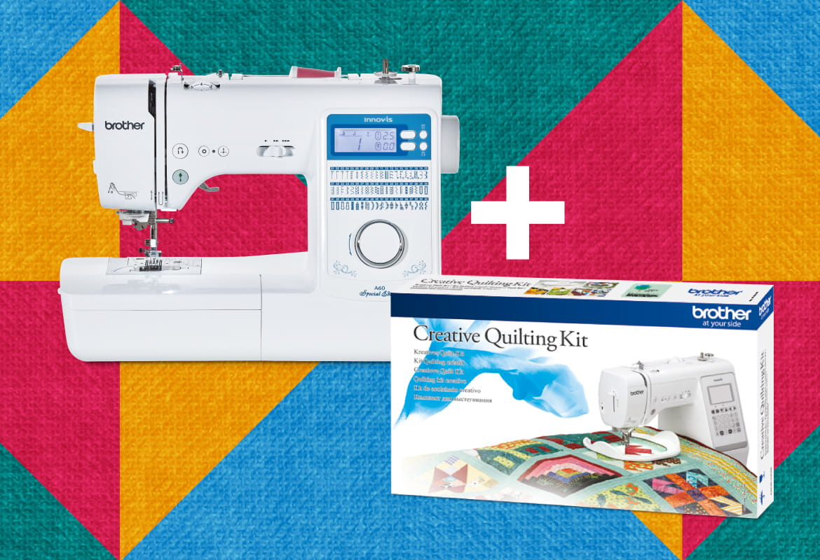 Brother Innov-is A60 with quilting kit