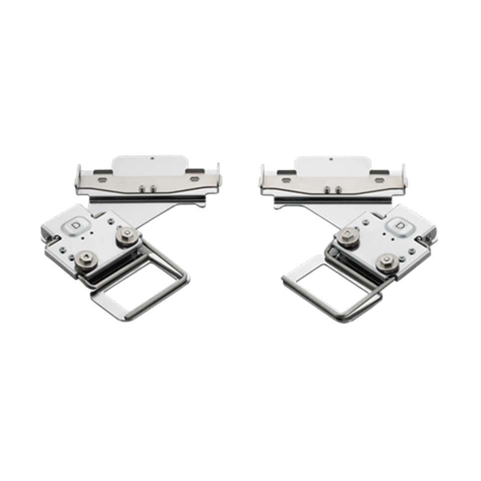 Cadres à broder clipsables gauche et droit 45 x 24 mm PRCLP45LR