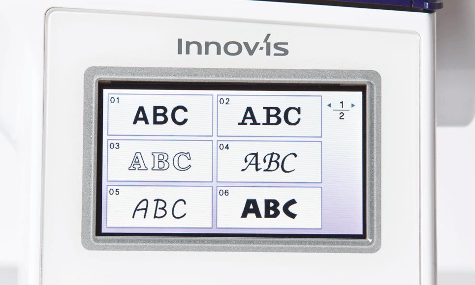 Innov-is NV800E borduurmachine 4