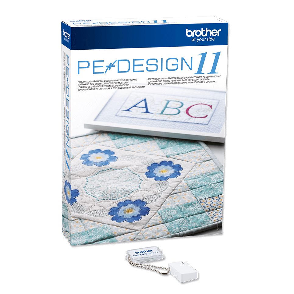 Pe Design 11 Advanced Embroidery Software Brother