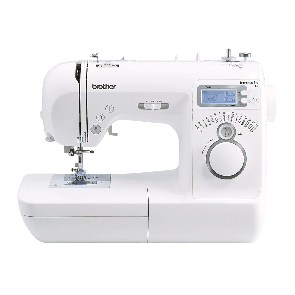 Innov-is 15 computerized sewing machine for beginners front view