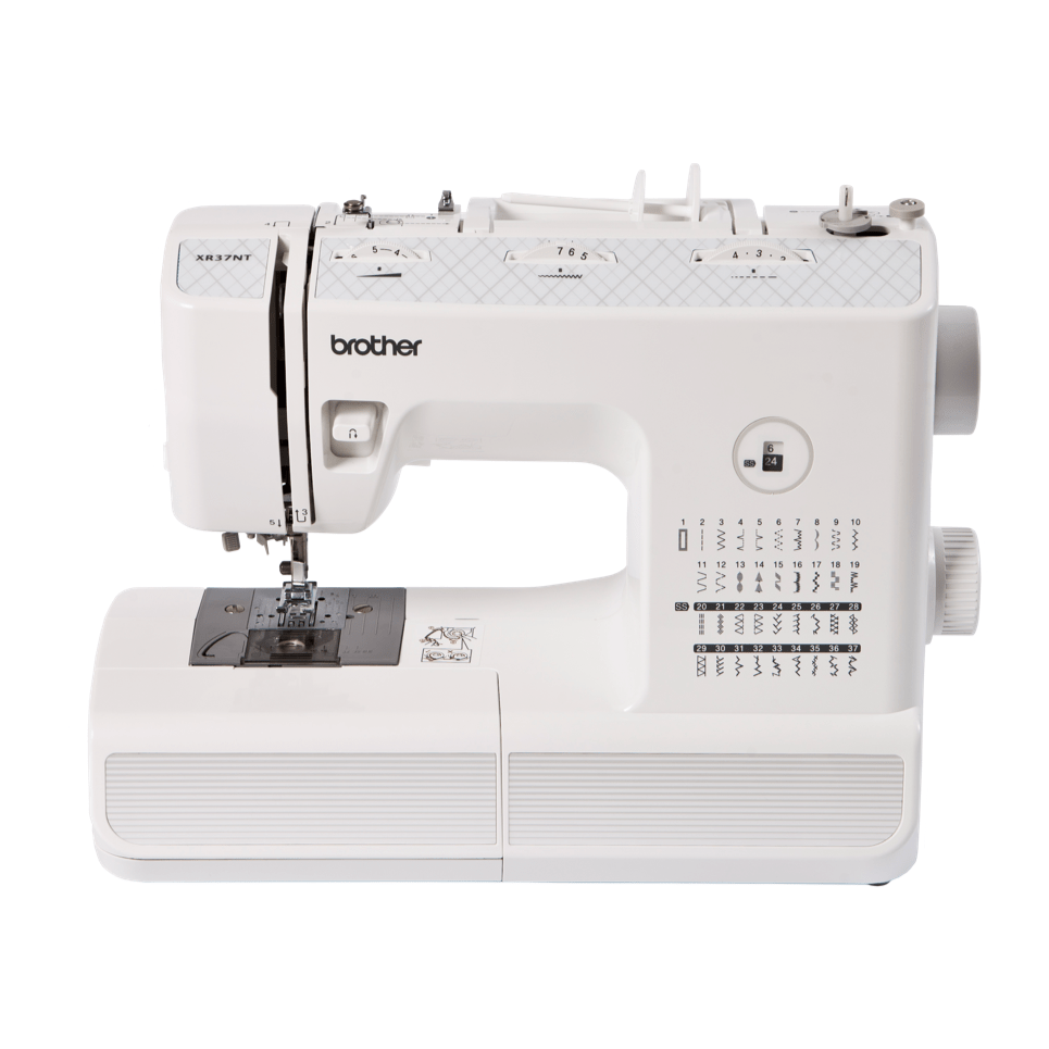 Brother XR37NT mechanical sewing machine for intermediate sewers