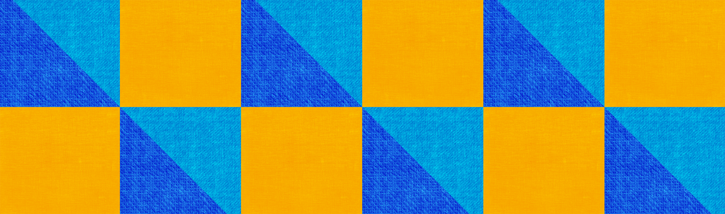 blue and yellow pattern