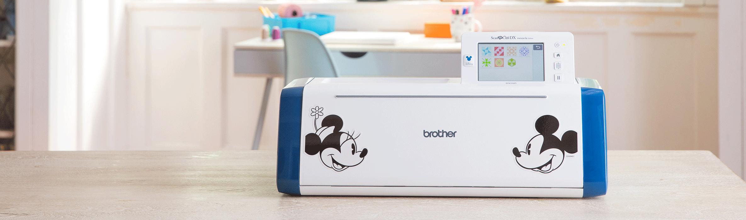 Brother ScanNCut SDX2200D Disney cutting machine