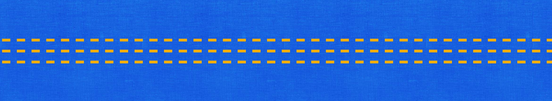 Motivo giallo su sfondo blu