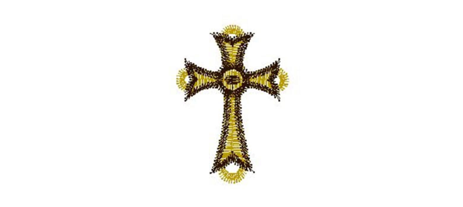 Kreuz-Stickmuster