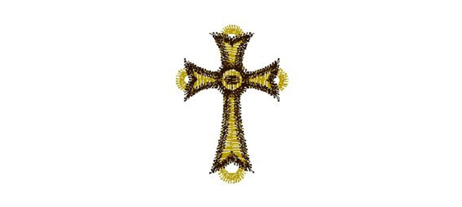 cross embroidery pattern