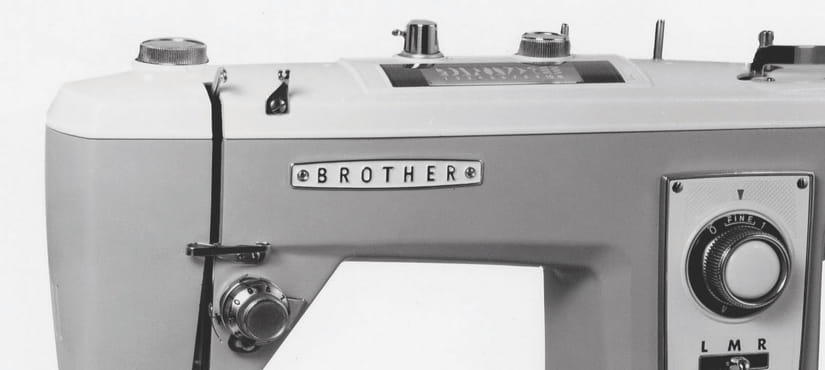 Retro brother sewing machine