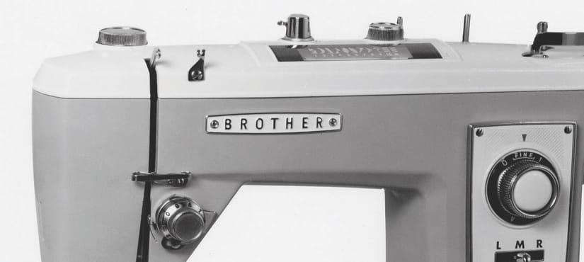 Retro brother sewing machine