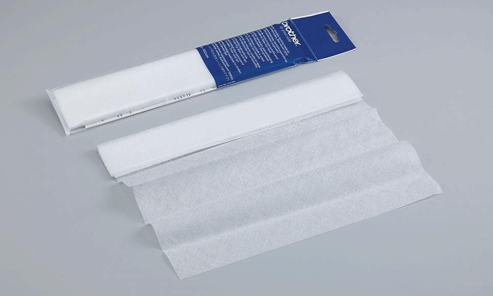 Brother in wateroplosbaar verstevigingsmateriaal BM6 (niet-geweven stof)