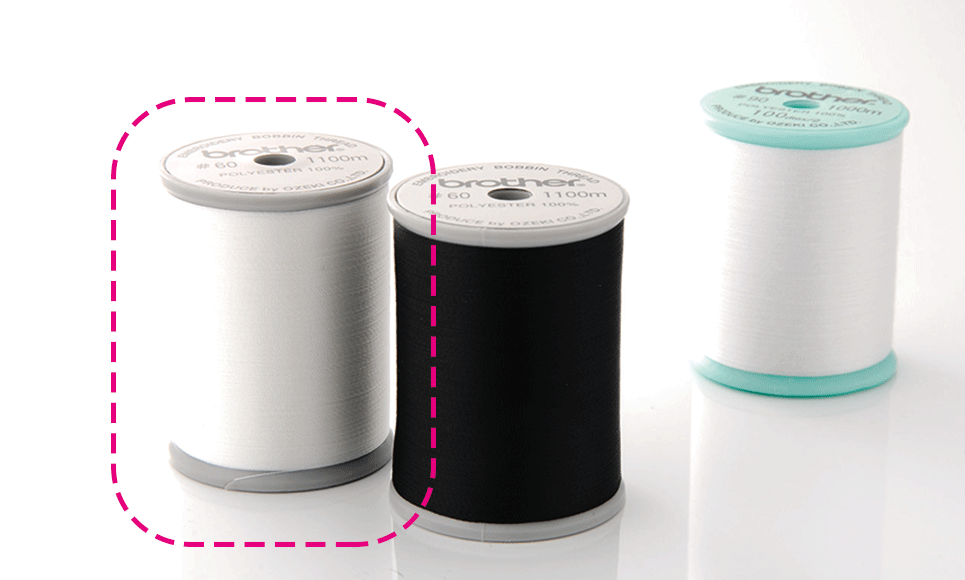 Brother Bobbin Thread EBTCEN (white)
