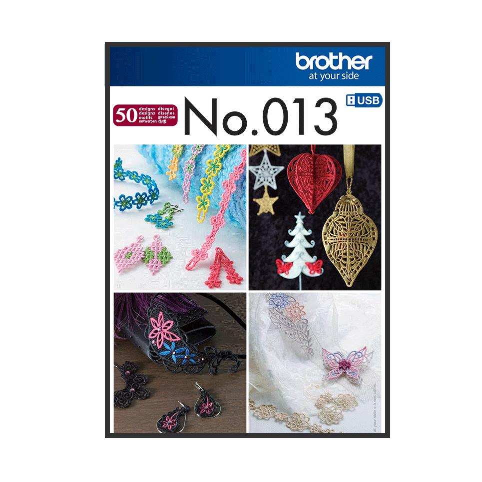 BLECUSB13 Embroidery Design Collection 13