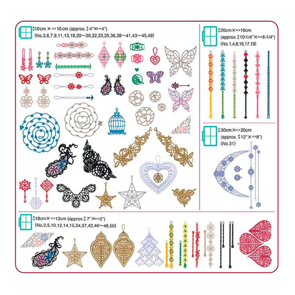 BLECUSB13 Embroidery Design Collection 13 2