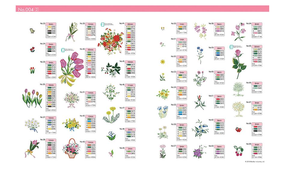 BLECUSB4 Embroidery Design Collection 4 3