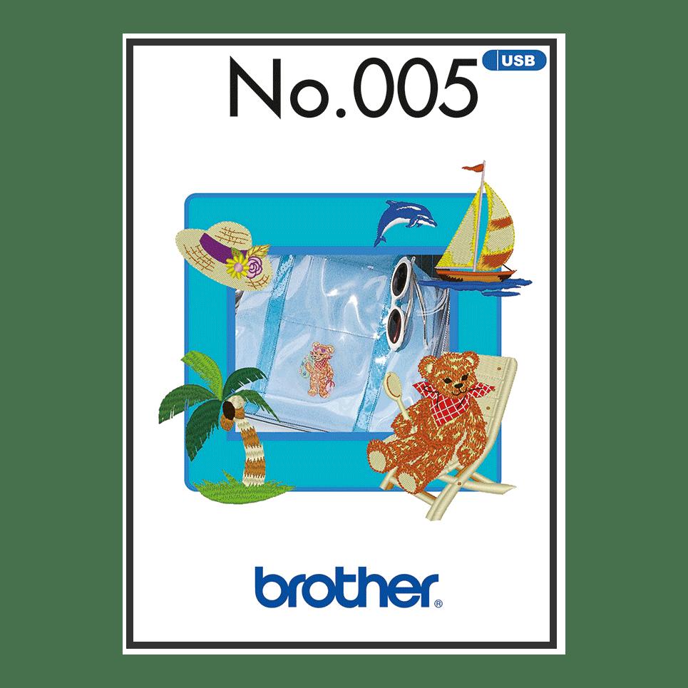 BLECUSB5 Embroidery Design Collection 5