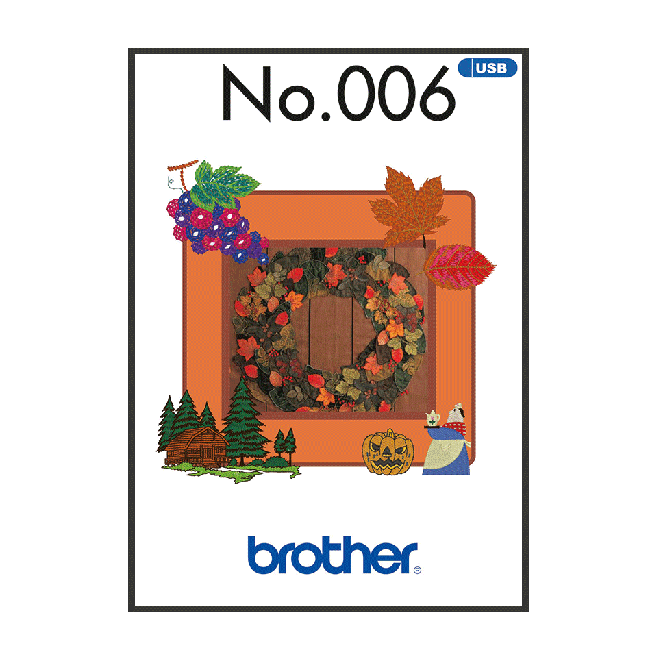 BLECUSB6 Borduurpatronen Collectie 6