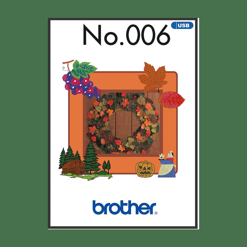 Collection de motifs de broderie n°6 BLECUSB6