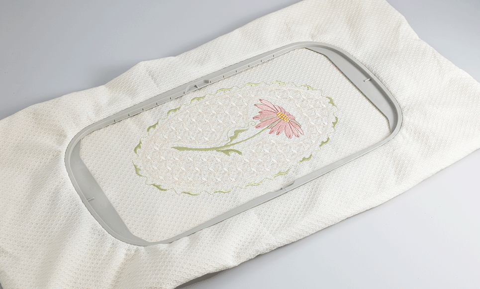 Large 30 x 18cm embroidery frame EF76 for Brother XP1, XV, V-Series