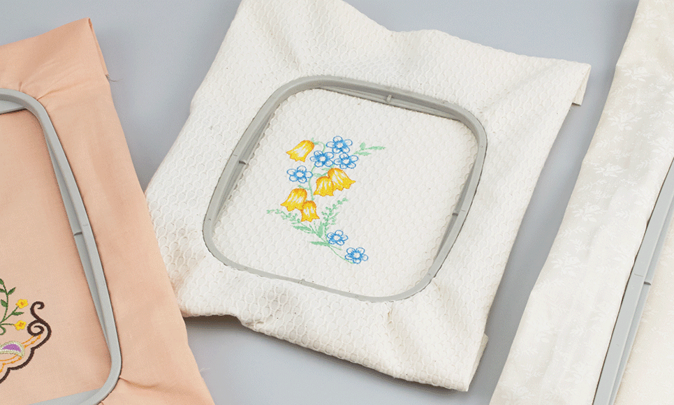 10 x 10cm embroidery frame EF83 for Brother F-Series