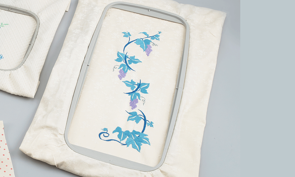 Large 30 x 13cm embroidery frame EF85 for Brother F-Series