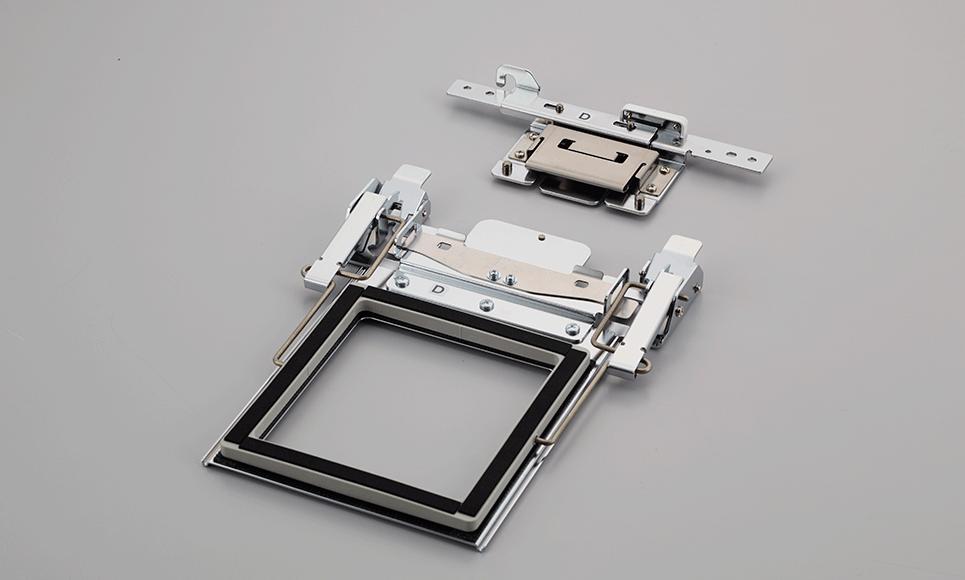 100 x 100mm Clamp Frame Set PRCLP100B 2