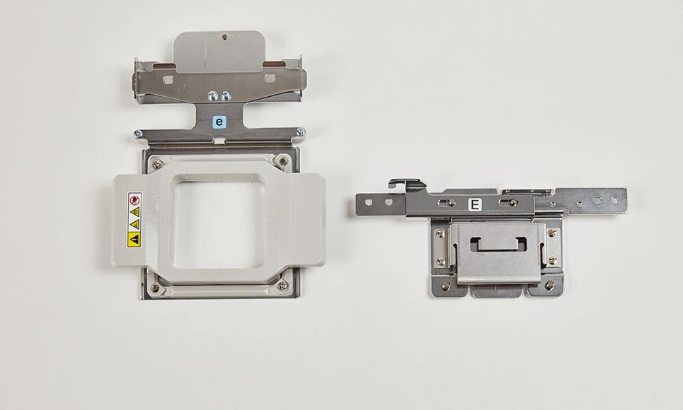 Magnetrahmen 50 x 50mm und Halterung PRMFA50 2