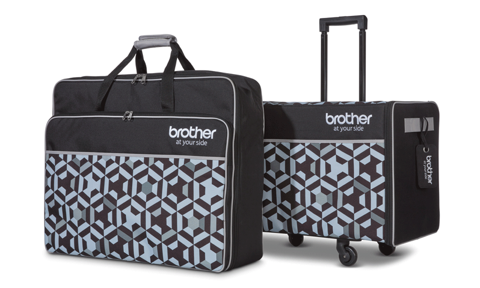 Brother Innov-is XJ1 Trolley-Cases für Maschine und Stickeinheit