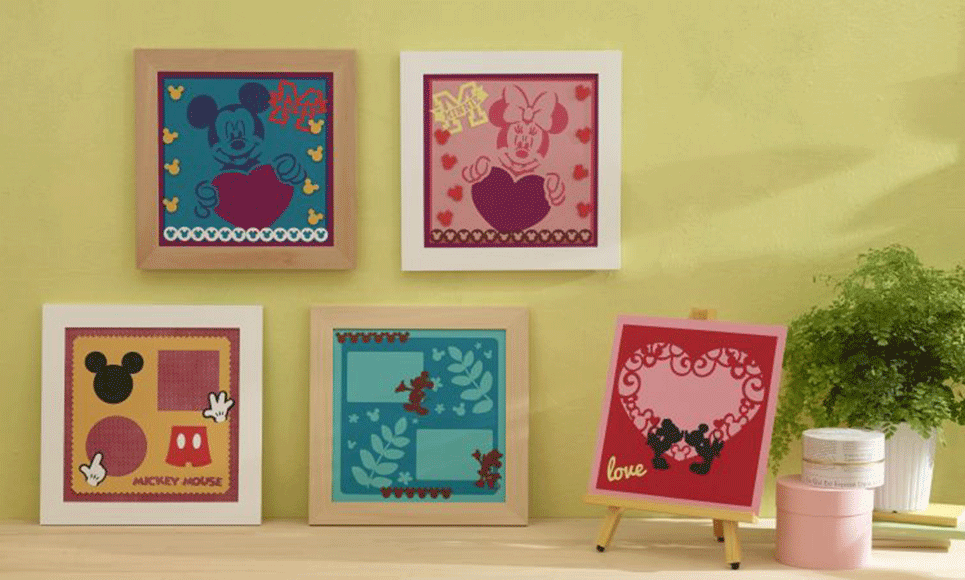 Disney Mickey and Friends Paper design collection CADSNP01 3
