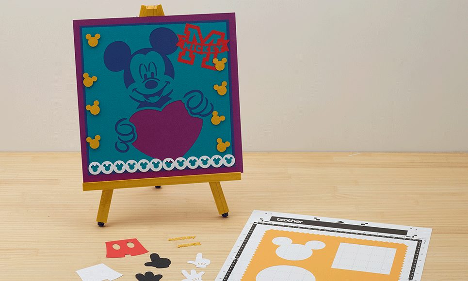 Disney Mickey and Friends Paper design collection CADSNP01 5
