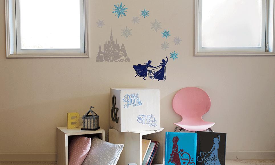 Disney Frozen woondecoratie-patrooncollectie CADSNP04 7
