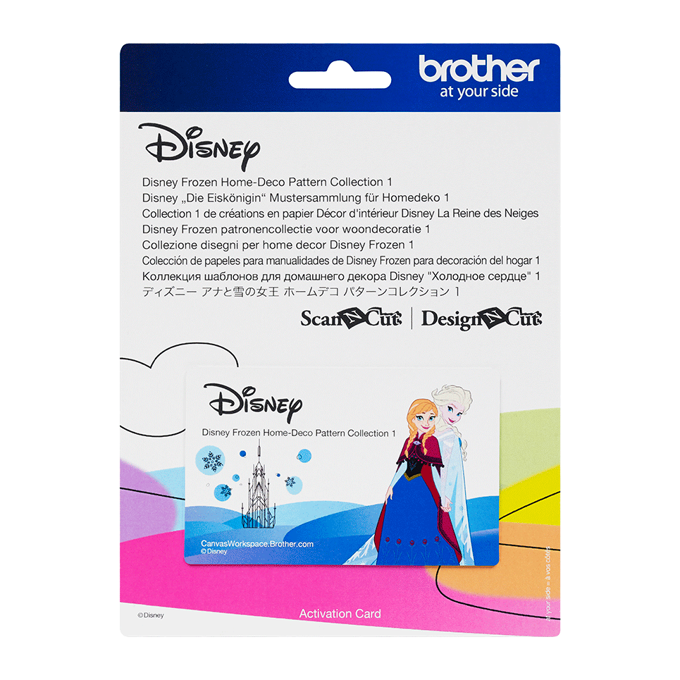 Collection de motifs Disney La Reine des Neiges CADSNP04