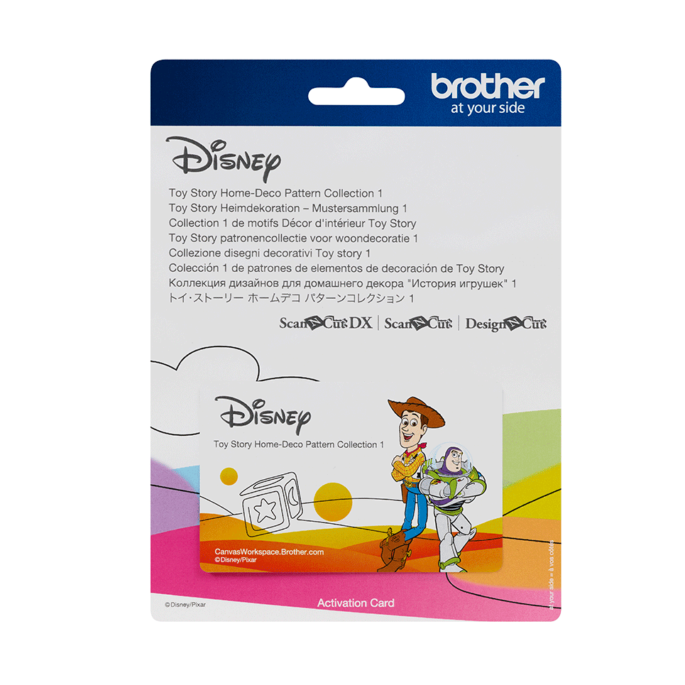 Disney Toy Story Home deco design collection CADSNP05