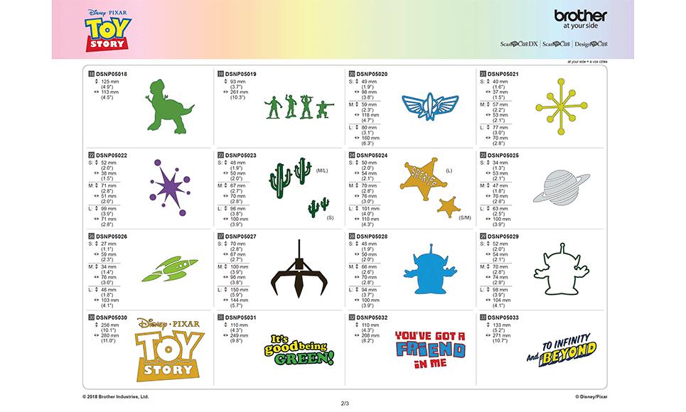Disney Toy Story woondecoratie-patrooncollectie CADSNP05 7