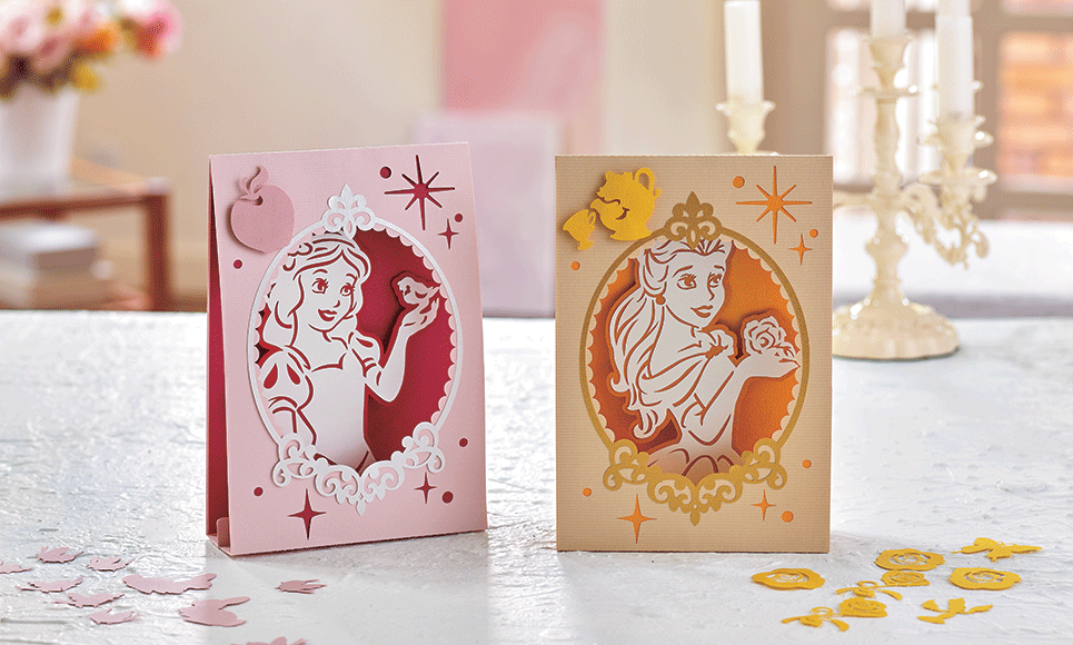 Disney Snow White and Belle Paper design collection CADSNP06 3