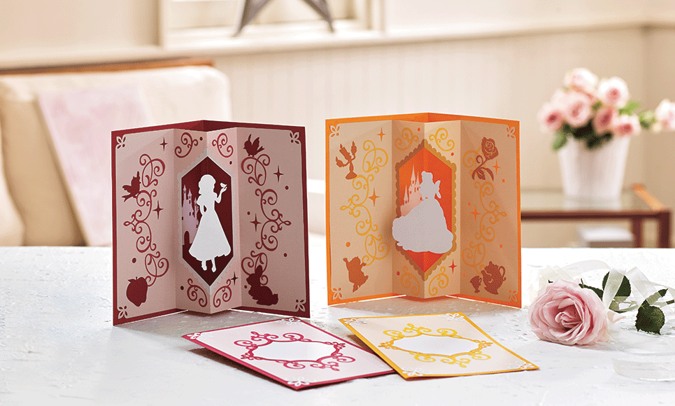 Disney Snow White and Belle Paper design collection CADSNP06 4