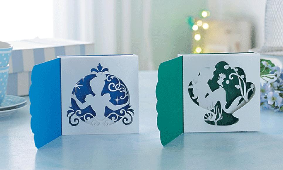 Collection de motifs Cendrillon et Ariel de Disney CADSNP07 4