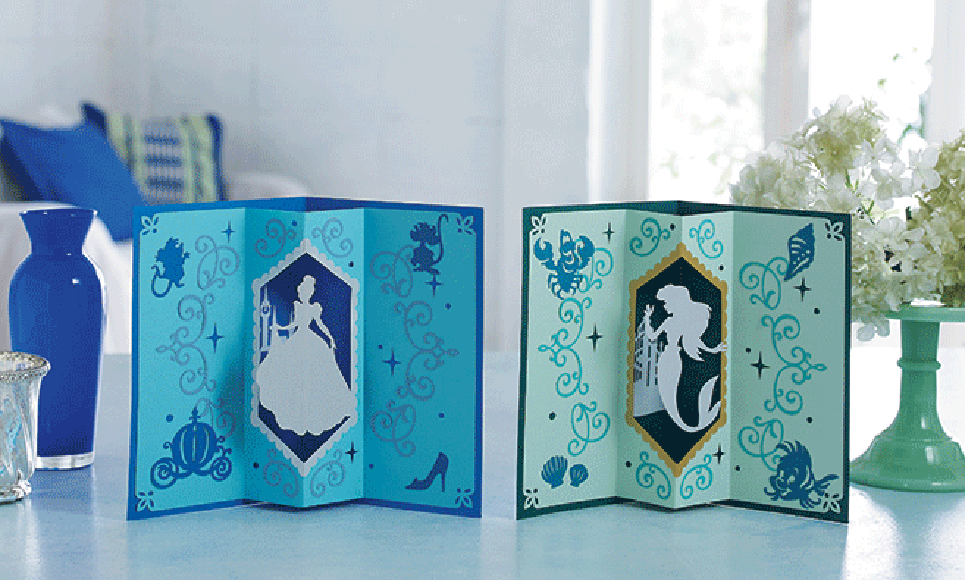 Disney Cinderella and Ariel Paper design collection CADSNP07 5