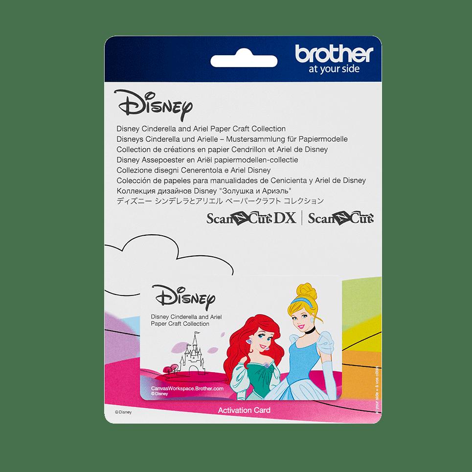 """Disney Musterkollektion """"Aschenputtel und Ariel"""" für Papier CADSNP07"""