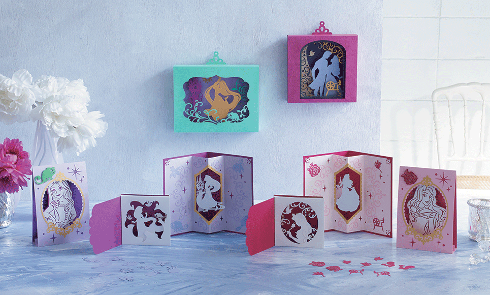 Disney Rapunzel and Aurora Paper design collection CADSNP08 2