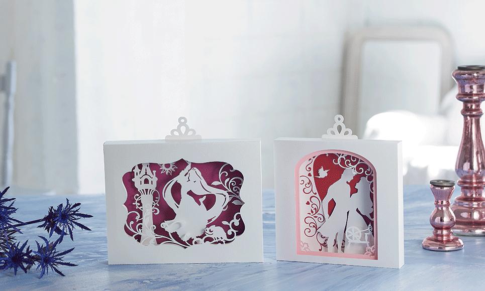 Disney Rapunzel and Aurora Paper design collection CADSNP08 6