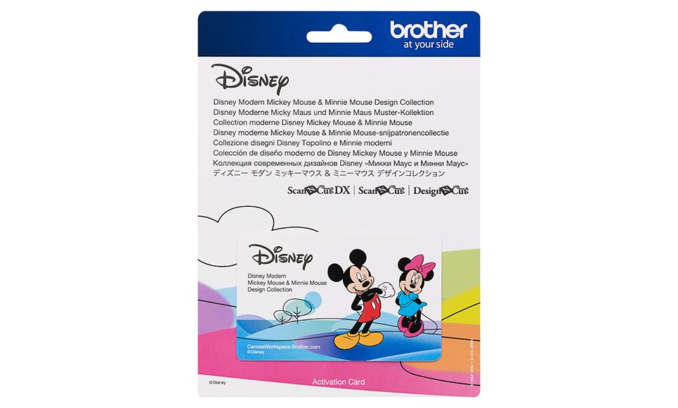 Disney Modern Mickey Mouse & Minnie Mouse Design Collection CADSNP10