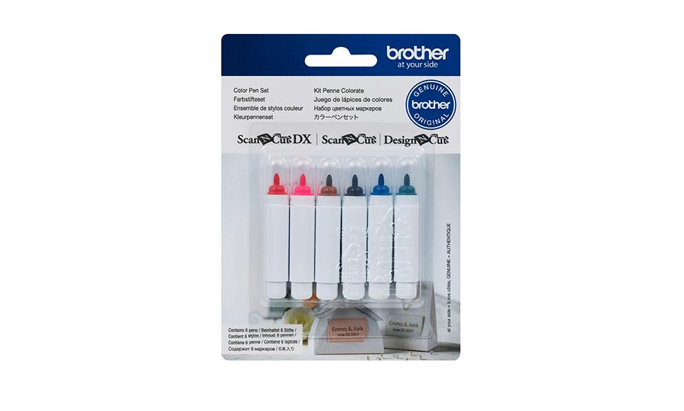 ScanNCut 6 Colour Pen Set CAPEN1