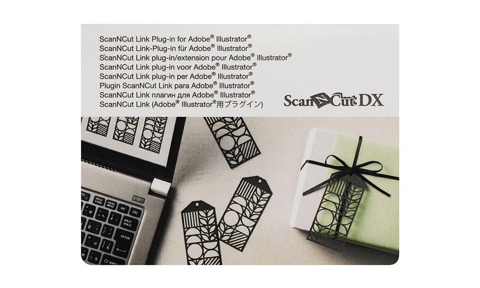 ScanNCut Link Plug-in for Adobe® Illustrator® CADXSNCLNK1
