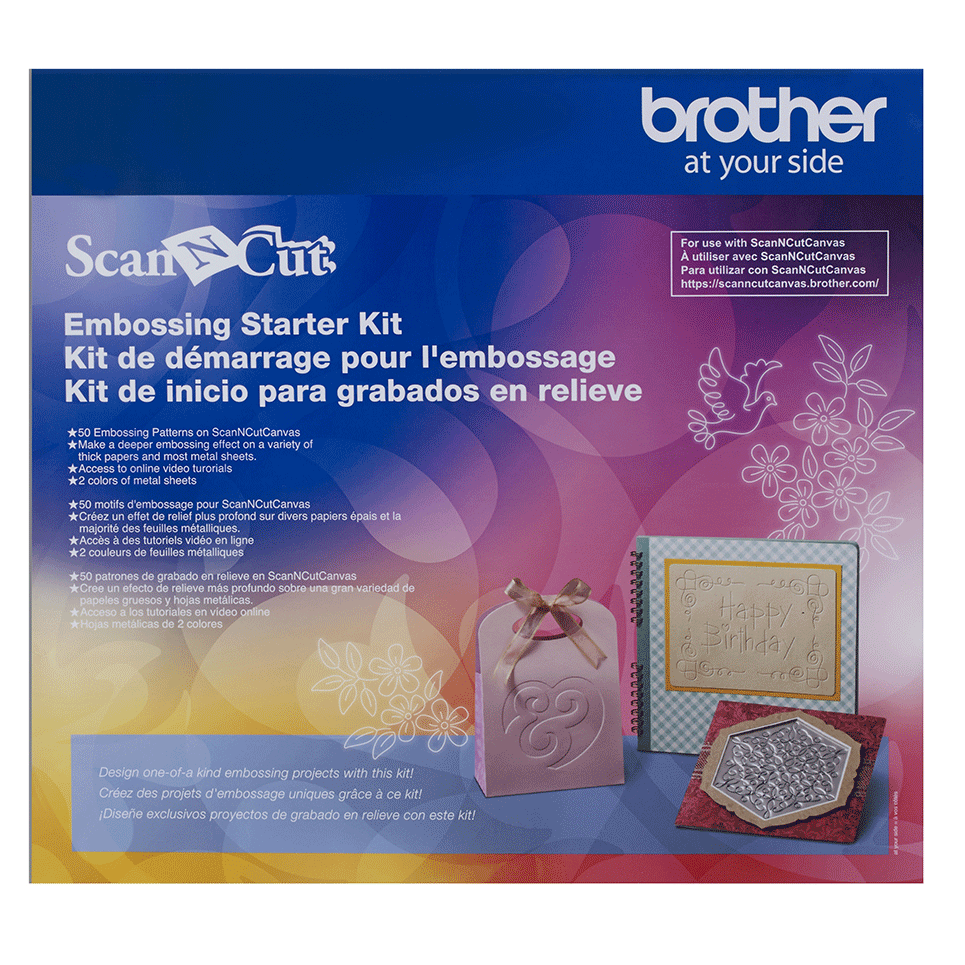 ScanNCut Embossing Starter Kit CAEBSKIT1