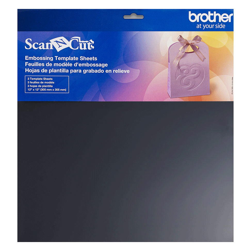 ScanNCut Embossing Template Sheets CAEBSTS1