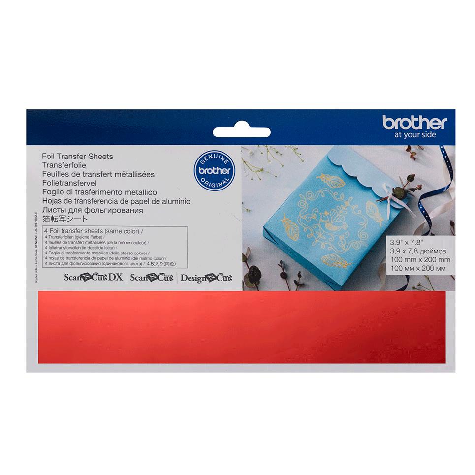 ScanNCut Foil Sheets CAFTSRED1 - Red