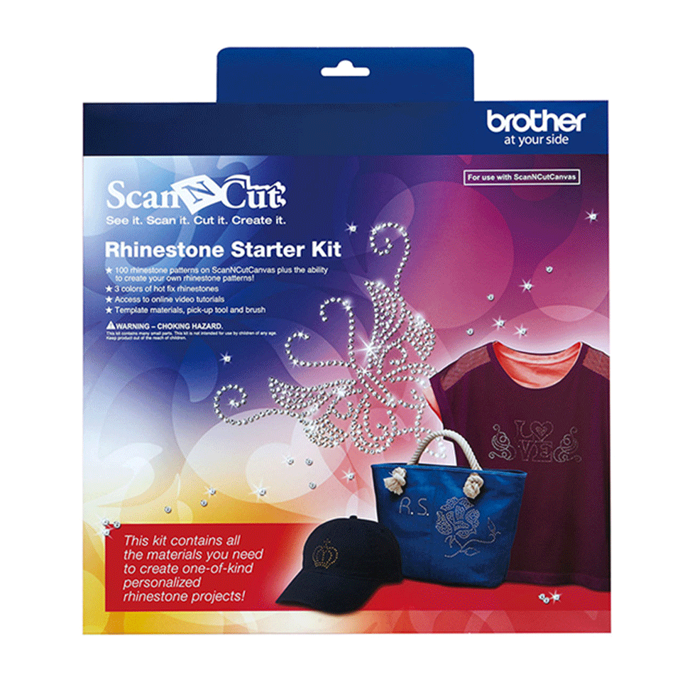 Starter kit strass Brother CARSKIT1 per ScanNcut