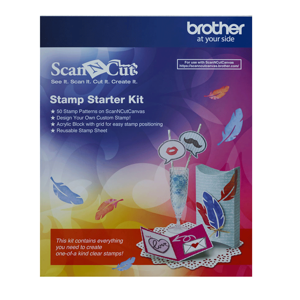 ScanNCut Stamp Starter Kit CASTPKIT1