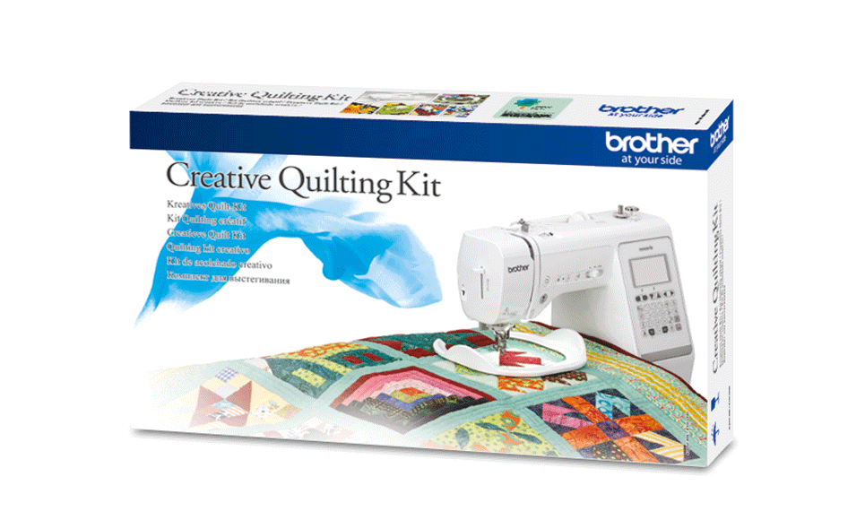 Kit per quilting creativo Brother QKM2 per serie A, M