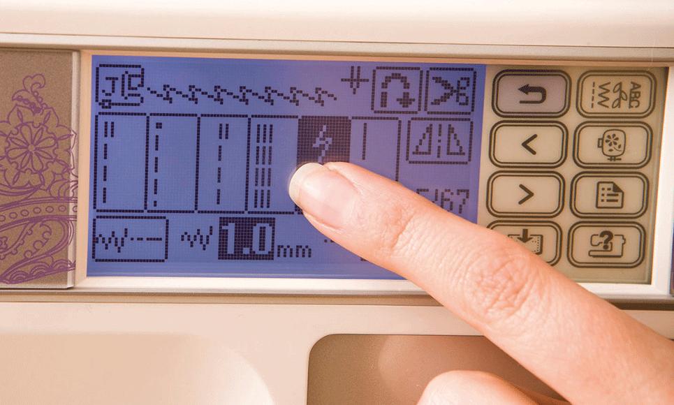 Innov-is 950 швейно-вышивальная машина  3